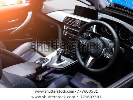 Modern araba iç yalıtılmış spor Stok fotoğraf © ozaiachin