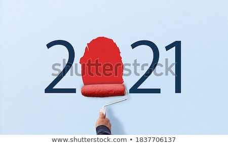 a painter holding a paint roller stock photo © photography33