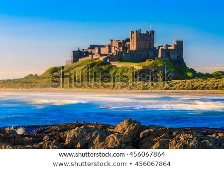 bamburgh castle stock photo © chris2766