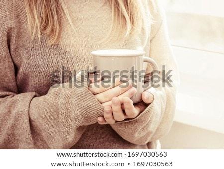 caliente · beber · invierno · té · taza - foto stock © is2