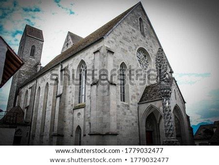 Saint John parish church in Rapperswil, Switzerland Stock photo © boggy