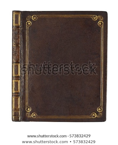 Old book cover  Stock photo © inxti