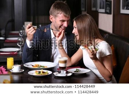vergadering · tabel · drinken · koffie - stockfoto © sumners