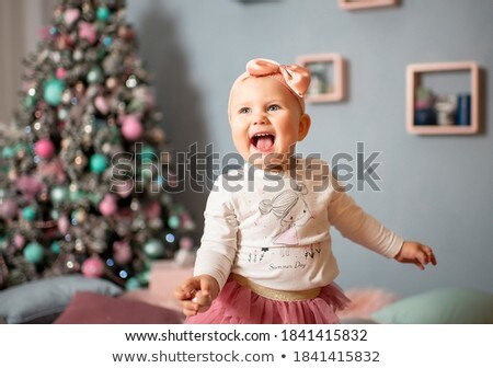 beauty girl saw a gift stock photo © petrmalyshev