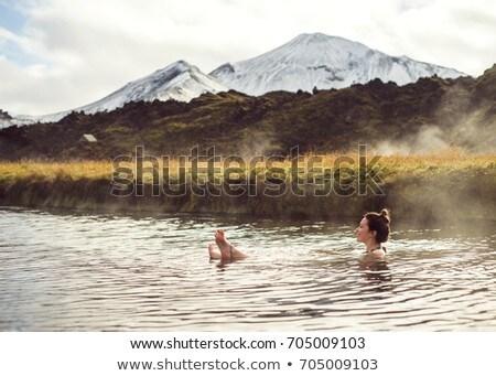 Hot spring in Iceland Stock photo © prill