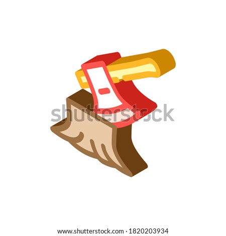 High Temperature Problem isometric icon vector illustration Stock photo © pikepicture