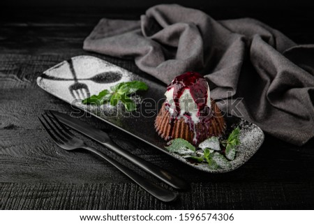 chocolate crust Stock photo © FOKA