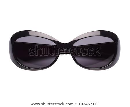 Elegáns női napszemüveg izolált fehér tengerpart Stock fotó © ozaiachin