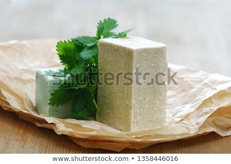 Natural Nettle soap Stock photo © milsiart