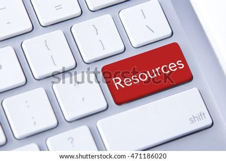 People Management on Red Keyboard Button. Stock photo © tashatuvango