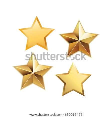 Csillag arany vektor ikon terv digitális grafikus Stock fotó © rizwanali3d