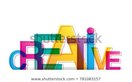 Criador palavra escolas conselho fundo educação Foto stock © fuzzbones0