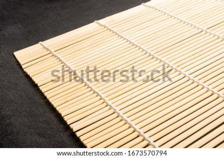 Bamboo table mat Stock photo © Digifoodstock