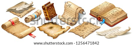 Wizard Book isometric icon vector illustration Stock photo © pikepicture