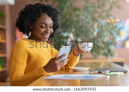 African woman on the phone Stock photo © photography33
