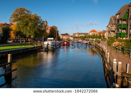 kanal · Prag · görmek · yaz · üzerinde · nehir - stok fotoğraf © srnr