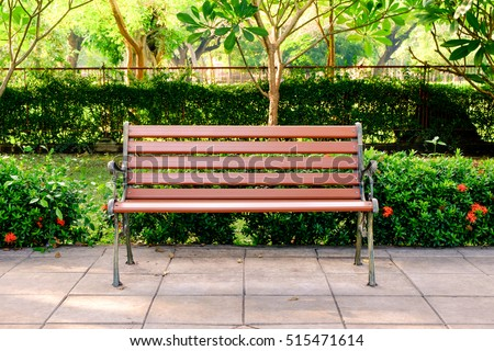 Benches in a park Stock photo © igabriela