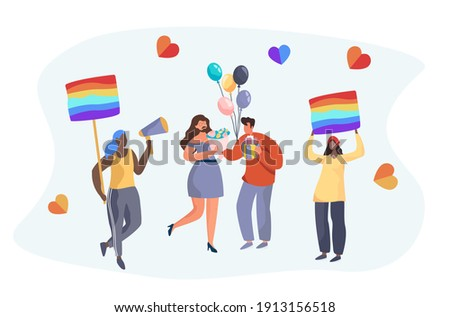 Sexual orientation symbols and flags Stock photo © vipervxw
