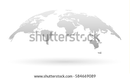 A template with a globe Stock photo © bluering