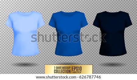 Mulher luz azul camisas foto posando Foto stock © sumners