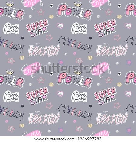 pink clothing girlpop music stock photo © toyotoyo