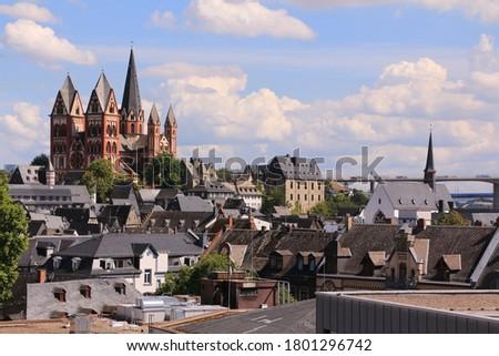 Cathedral of Limburg, Germany Stock photo © borisb17
