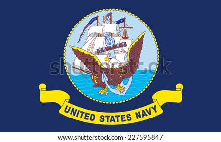 Соединенные · Штаты · морской · флаг · Blue · Sky - Сток-фото © speedfighter