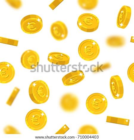 abstract seamless pattern with euro stock photo © boroda