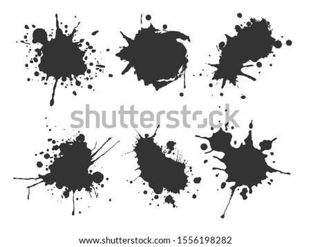 grunge inkblots splash design Stock photo © burakowski