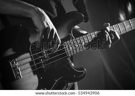 Bass Guitar Stock photo © njnightsky