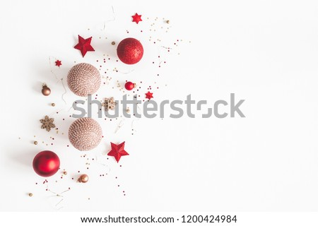 luz · grinalda · natal · luzes · branco · projeto - foto stock © boroda