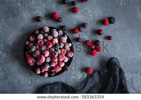 gyümölcsök · hó · közelkép · fa · narancs · jég - stock fotó © jonnysek