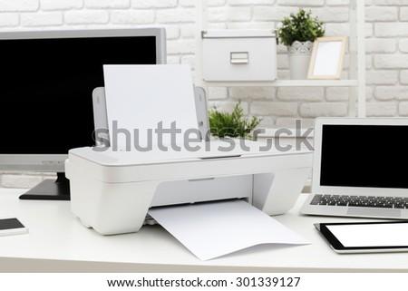 computer printer stock photo © get4net