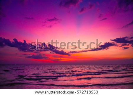 красивой Восход лет тихий морем тихий Сток-фото © Klinker