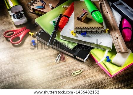 学校 事務用品 オフィス 図書 塗料 教育 ストックフォト © M-studio