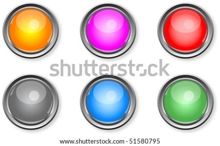 Orange Glossy Shaded Circle Vector Illustration Stock photo © cidepix