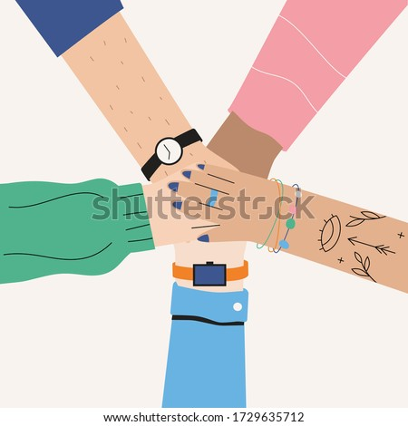 Male hands put together in achievment sign. Success concept. Stock photo © Len44ik