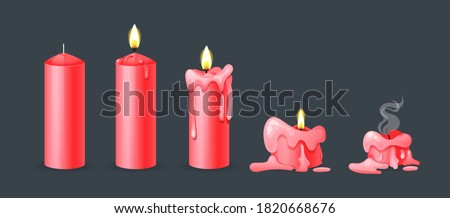 red candle Stock photo © taden