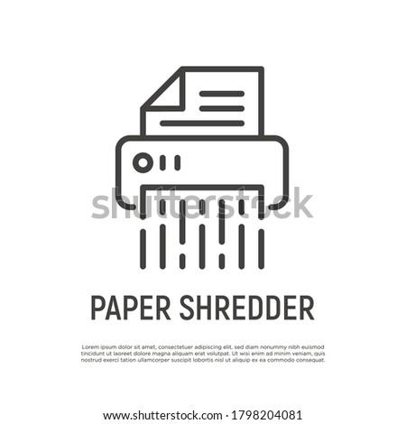 Document destruction homme d'affaires affaires bureau affaires Photo stock © andreasberheide
