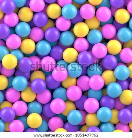 Purple bubble candy Stock photo © leungchopan