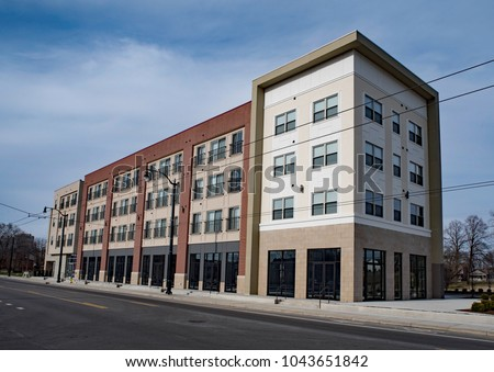 Old Warehouses in a Row Stock photo © Kayco
