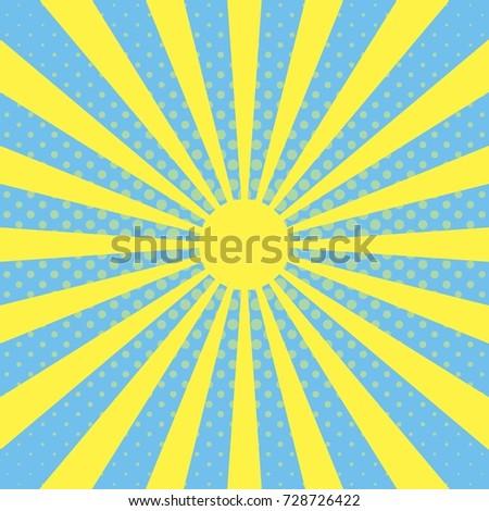 radiate blue grunge Stock photo © nicemonkey