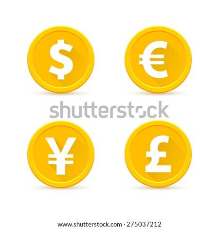 Euro Sign Yellow Vector Icon Design Stock photo © rizwanali3d