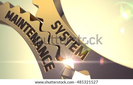 Utrzymanie złoty 3d ilustracji mechanizm 3D Zdjęcia stock © tashatuvango
