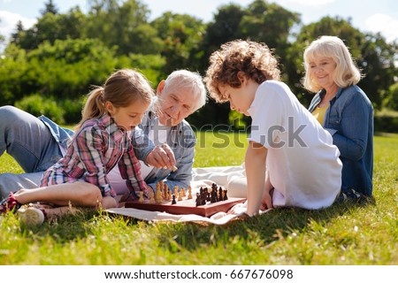 A man with his baby on his chess Stock photo © Lopolo