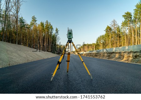 Surveyor with equipment Stock photo © photography33