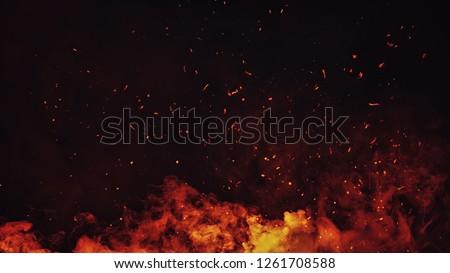 fire  background Stock photo © Pakhnyushchyy