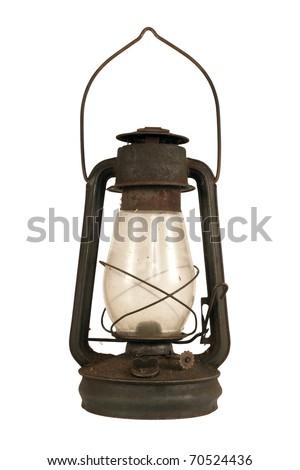 Antique oil lamp Stock photo © gavran333
