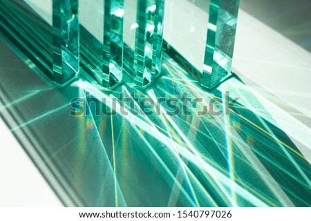 üveg · homlokzat · épületek · iroda · központ · modern - stock fotó © elxeneize