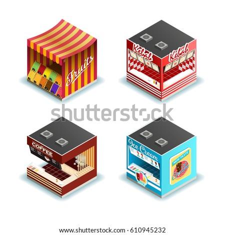 cubes town stock photo © silense